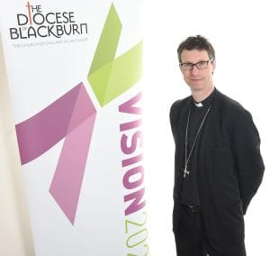 The Bishop of Burnley, Rt Rev. Philip North